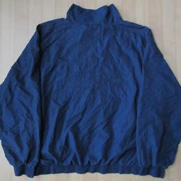 80's 90's Prince 刺繍 バックロゴ ジャケット L ネイビー プリンス テニス ラケット ブルゾン ウインドブレーカー ナイロン