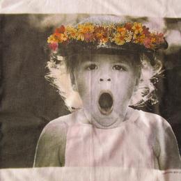 90's USA製 ベッツィ・キャメロン FOTOFOLIO OH MY! フォト Tシャツ L Betsy Cameron Little Angels 写真 写真家ART芸術