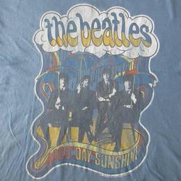 USA製 JUNK FOOD The Beatles コラボ Good Day Sunshine Tシャツ L John Lennon ジョン レノン Paul McCartney【deg】