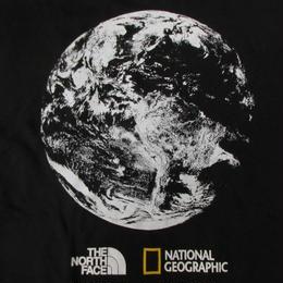 日本未発売 THE NORTH FACE National Geographic コラボ Bottle Source TシャツL黒 ノースフェイス カットソー