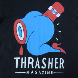 THRASHER MAGAZINE Piet Parra コラボ Credit Card Tシャツ M 黒 スラッシャー マガジン パイエット・パラ スケートボード