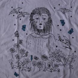Kiki Smith Wolf Girl Tシャツ XL キキ スミス