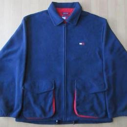 90s TOMMY HILFIGER フリース フルジップ ジャケット