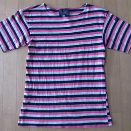 Le minor Ropes・ボーダー柄・半袖バスクシャツ サイズ・2 正規品 MADE IN FRANCE -135