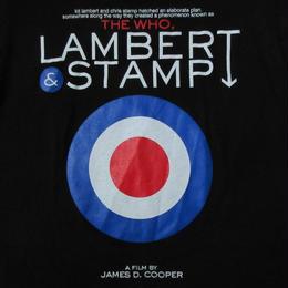 The Who LAMBERT & STAMP FUUDOBRAIN コラボ Tシャツ S黒 ザ・フー ランバート スタンプ 映画 ターゲットマークModsモッズMOD【deg】