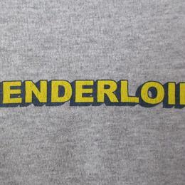 00's USA製 TENDERLOIN EXTRA PREMIUM Tシャツ L ヘザーグレー テンダーロイン グラフィック ロゴ 半袖 カットソー