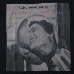 フェアーグラウンド・アトラクション The First of a Million Kisses Tシャツ M 黒 Fairground Attraction写真Elliott Erwitt