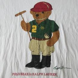 90's USA製 POLO RALPH LAUREN ポロ ベアーTシャツ