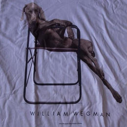 90's William Wegman Weimaraner 犬 半袖 Tシャツ