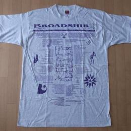 90's USA製BROADSHIRT POETRY MAGAZINE 1995 TシャツL