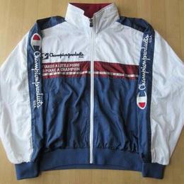 90's CHAMPION 目玉 USA 腕刺繍 ジャケット L