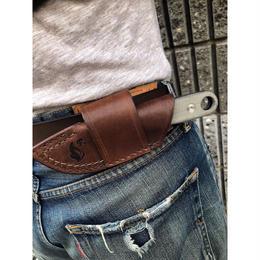 ESEE knives Izula Horizontal Carry Leather Sheath
