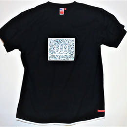 UUU. -Ice(Diamond) T-Shirt(BLACK)-