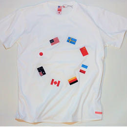 UUU. -World T-Shirt(WHITE)-