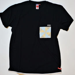 UUU. -Ninja Pocket T-Shirt(BLACK)-