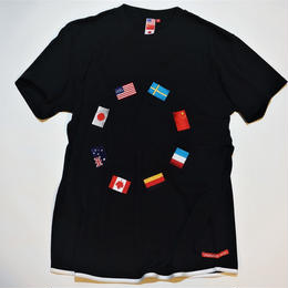 UUU. -World T-Shirt(BLACK)-