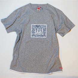 UUU. -Ice(Diamond) T-Shirt(GRAY)-