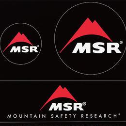 『MSR』ステッカー