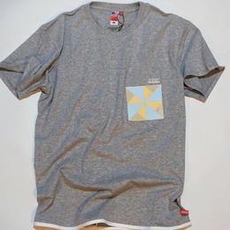 UUU. -Ninja Pocket T-Shirt(GRAY)-