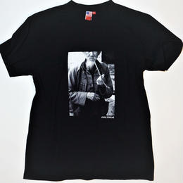 UUU. -KUNG-FU MASTER Photo Tee(BLACK)-