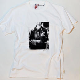 UUU. -KUNG-FU MASTER Photo Tee(WHITE)-