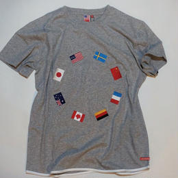 UUU. -World T-Shirt(GRAY)-