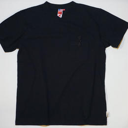 UUU. -CHINA Pocket Tee(BLACK)-