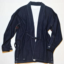 UUU. -DENIM Samuei Jacket(NAVY)-