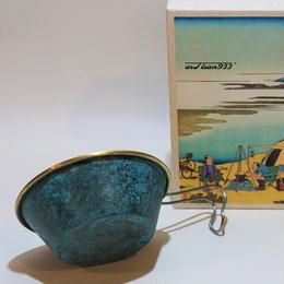 artisan933-Orii coormagic brass cup(青)-