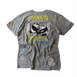 birdog 手刺繍Tシャツ PANDA