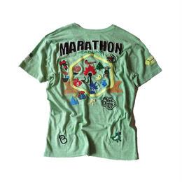birdog 手刺繍Tシャツ マッチ棒