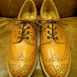 17.03 Rejected Tricker's / Acorn / Country Full Brogue Shoes / Dainite Sole