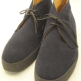 Sanders × UW / Mud Guard Chukka Boots / Navy