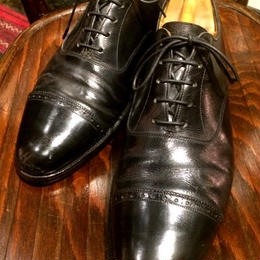 SIMPSON Vintage Oxford Shoes with Vintage Shoe Trees Size 8half (Secondhand)