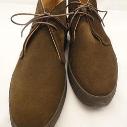 Sanders × UW / Mud Guard Chukka Boots / Chocolate