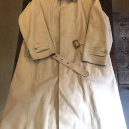 Gekko Rainwear  / Off White Rain Coat / Secondhand /  Size44 / Made in England