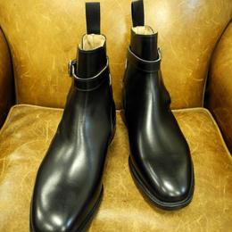 18.08 Rejected Tricker's / Black  / Jodhpur Boots / Leahter Sole