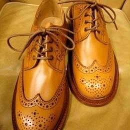 Tricker's × UW Ladies / Country Brogue Shoes / Acorn