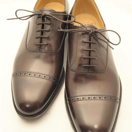 Joseph Cheaney  / Punched Cap Toe Shoes / Mocha Brown