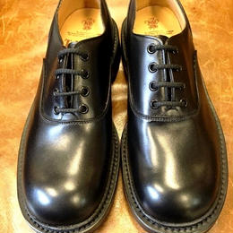 17.29 Rejected Tricker's  / Black / Plain Toe Shoes / Command W Sole / Size 8-4fitting