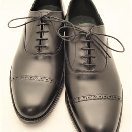 Joseph Cheaney  / Punched Cap Toe Shoes / Black