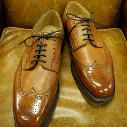 S-18 Rejected Tricker's /  Brown  / Full Brogue / Dainite W Sole / Size 10