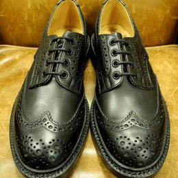 17.05  Rejected Tricker's / Black MC / Country Full Brogue Shoes  / Leather W Sole
