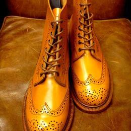 Tricker's × UW Ladies / Country Brogue Boots / Acorn