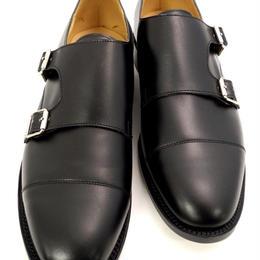 UK Original / Double Monk Shoes / Black