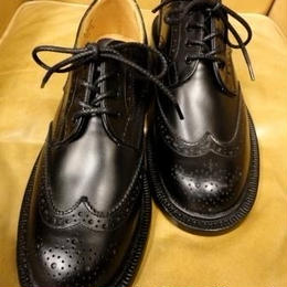 Tricker's × UW Ladies / Country Brogue Shoes / Black