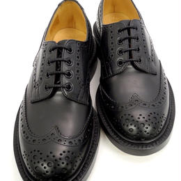 Tricker's × UW / Country Brogue Shoes / Black MC