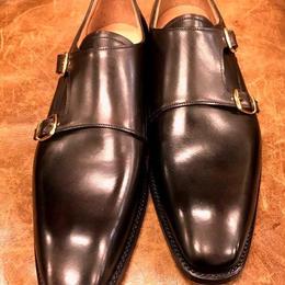 Joseph Cheaney  / Double Monk Shoes / Mocha