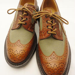 Tricker's × UW / Country Brogue Shoes / Combi