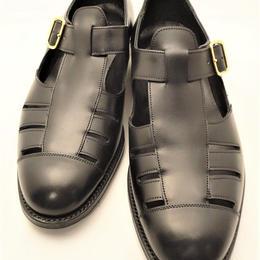 Joseph Cheaney  / Gurkha Sandals / Black
